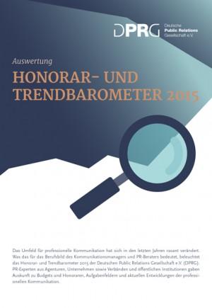 Honorar- und Trendbarometer 2015