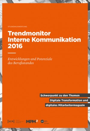 Trendmonitor Interne Kommunikation 2016 - Cover