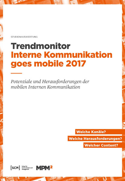Trendmonitor Interne Kommunikation